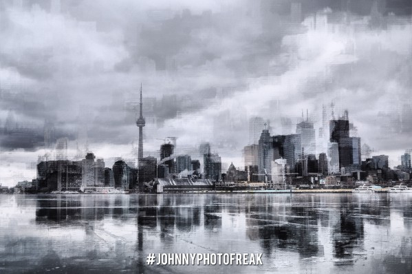 Toronto on the ice  by Johnnyphotofreak