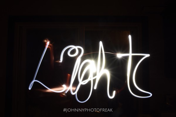 Light Trail painting  by Johnnyphotofreak