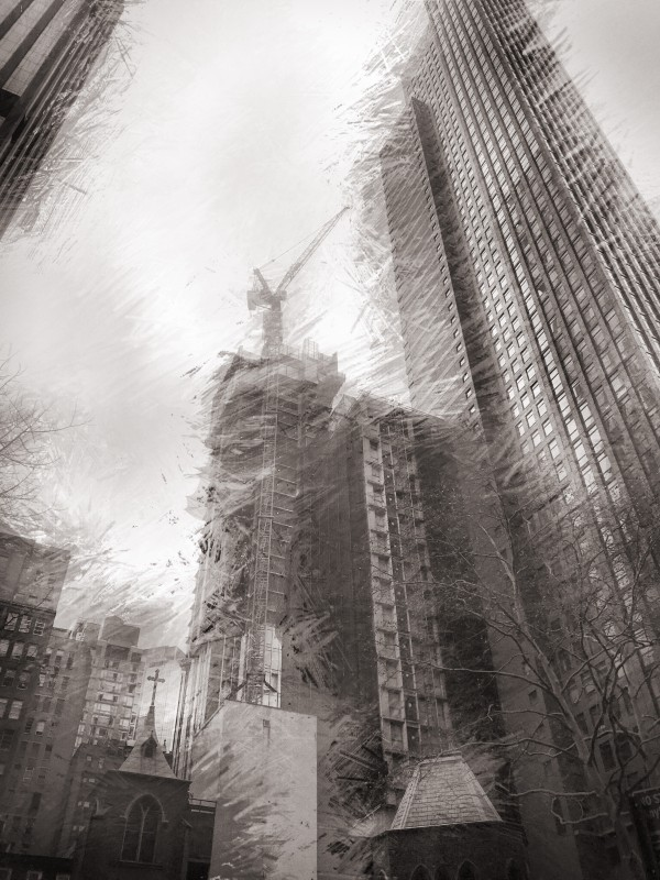 Skyscraper construction  by Johnnyphotofreak