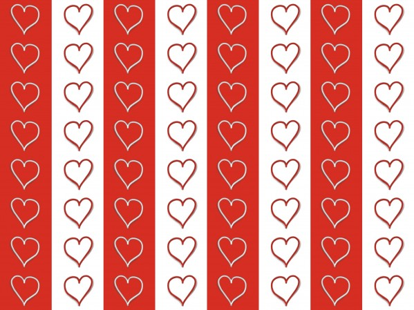 Hearts pattern by Johnnyphotofreak