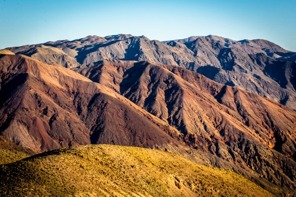 Death Valley mountain by Johnnyphotofreak
