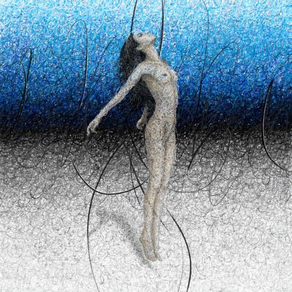 Ascension - Blue by K-os Art