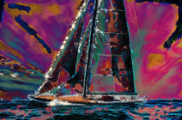 J Class Yacht by Lutz Roland Lehn