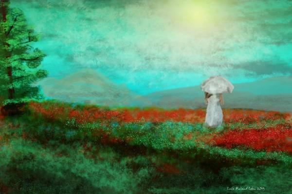 Poppyfield by Lutz Roland Lehn