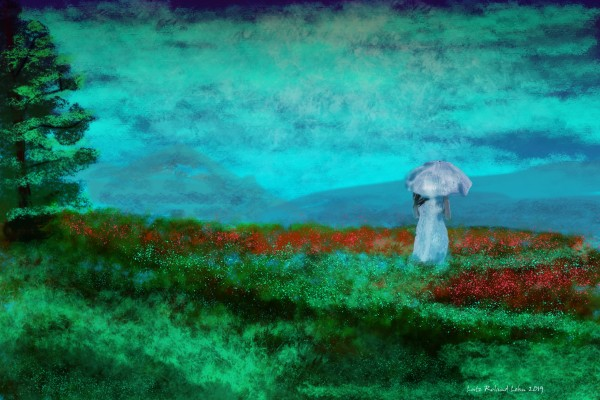 Poppyfield 2 by Lutz Roland Lehn