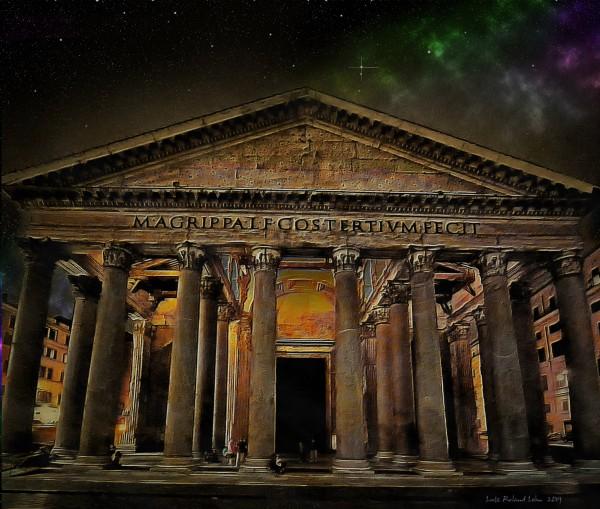 Pantheon Rome by Lutz Roland Lehn