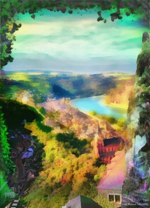 Romantic Rhine Valley by Lutz Roland Lehn