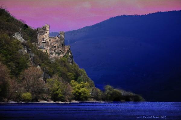 Rheinstein Castle 2 by Lutz Roland Lehn