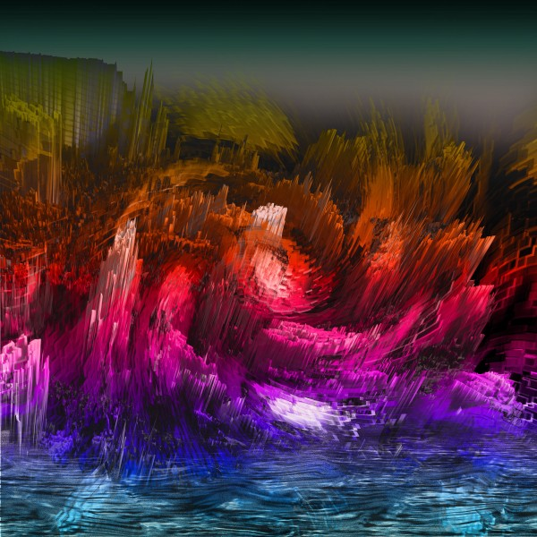 abstract Lanscape by Lutz Roland Lehn