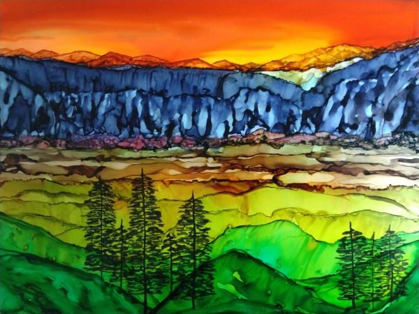 Hidden Canyon by Michelle Erickson