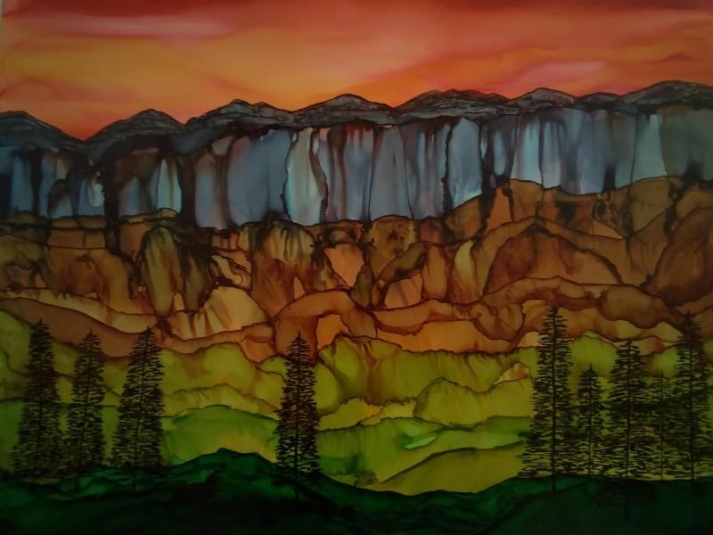 Weeping Cliffs by Michelle Erickson
