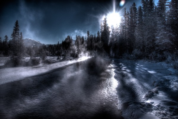 Policemans Creek _ 37 Degrees Celcius by Mike Gould Photoscapes