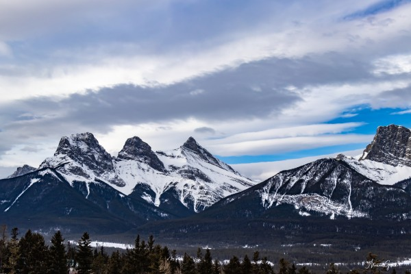 Three Sisters Mountain by Mike Gould Photoscapes