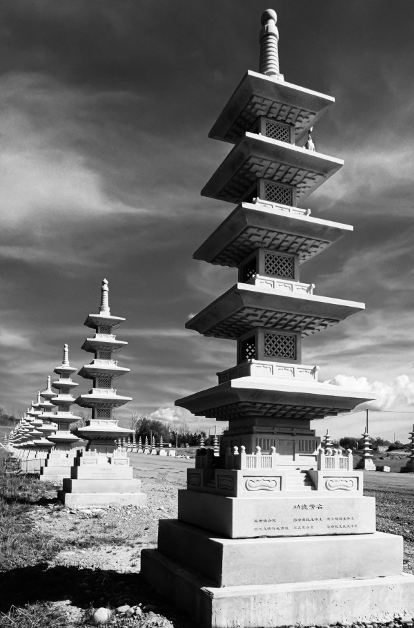 Vanishing Towers of Wutai Shan by MumbleFoot
