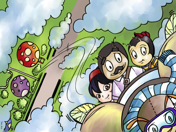 Let Your Dreams Take Flight - A Dream of Tomorrow  - Bugville Critters Digital Download