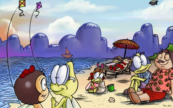 A Dream of Summer - Kites - Bugville Critters Digital Download