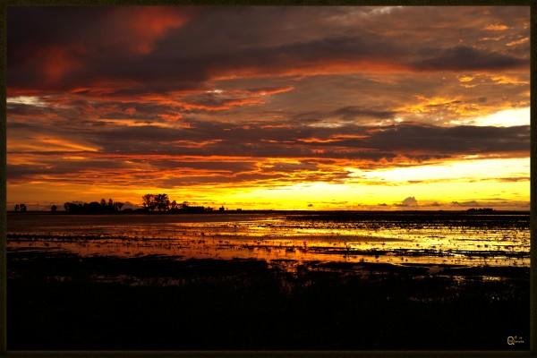 granite belt sunset by Stephen James