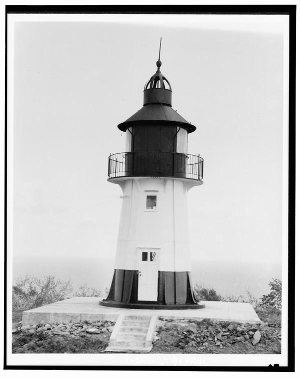 Hams-Bluff-Lighthouse-US-Virgin-Islands  Print