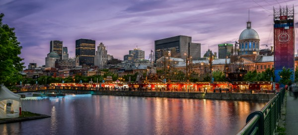 Old Port Of Montreal by Telly Goumas