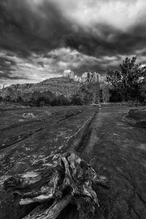 Cathedral Rock by Telly Goumas
