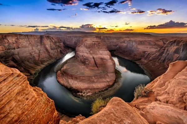 Horseshoe Bend Arizona by Telly Goumas