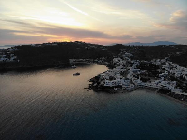 Mykonos Sunset by Cal Prest