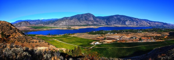 Osoyoos Panorama by Wesley Allen Shaw