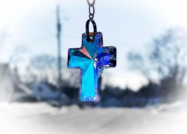 Blue Cross by Yuliya Marusina