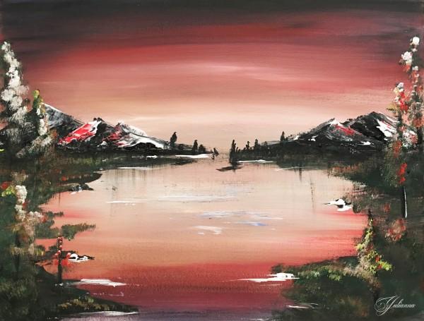Red Sky by Yuliya Marusina