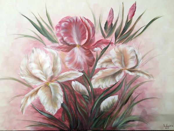 Irises  by Yuliya Marusina