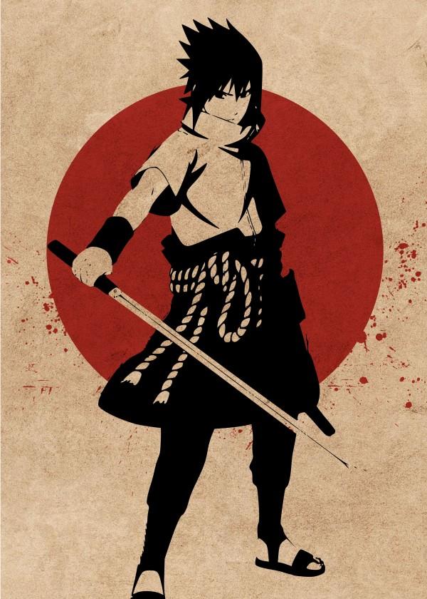sasuke by animenew