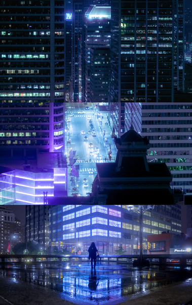 Nocturne City by longfire