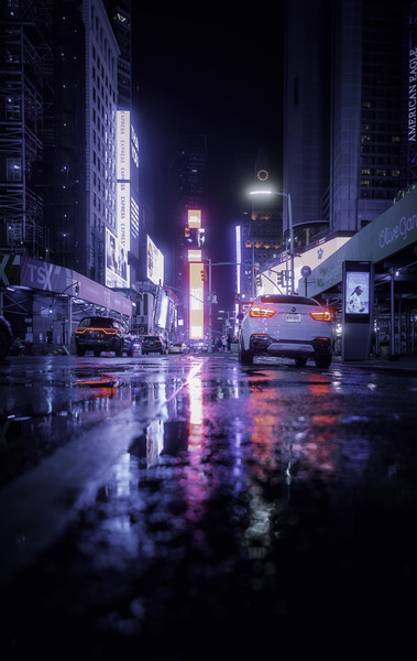 Welcome to Night City by longfire