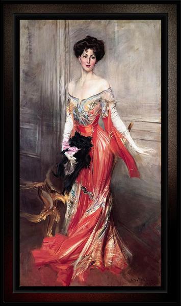 Portrait Of Elizabeth Wharton Drexel by Giovanni Boldini Old Masters Classical Fine Art Reproduction by xzendor7