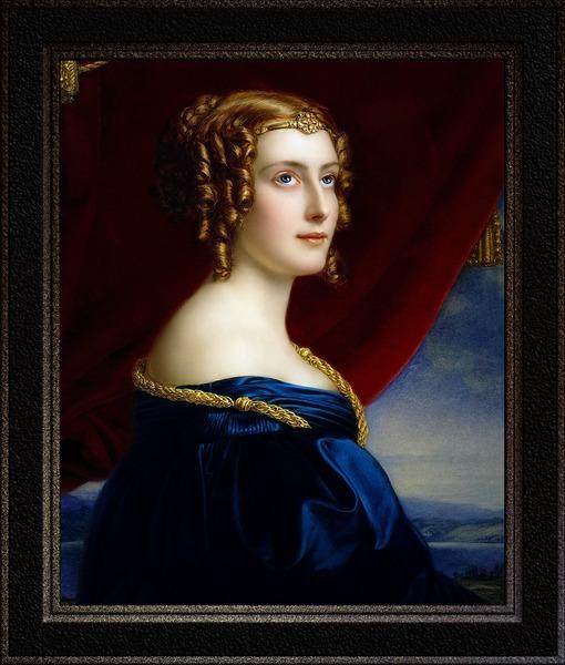 Portrait of Lady Jane Ellenborough by Joseph Karl Stieler Classical Art Xzendor7 Old Masters Reproductions by xzendor7