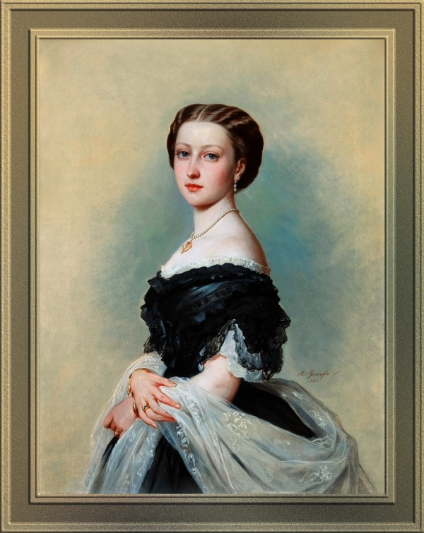 Princess Louise Duchess of Argyll by Albert Grafle Old Masters Classical Art Reproduction by xzendor7