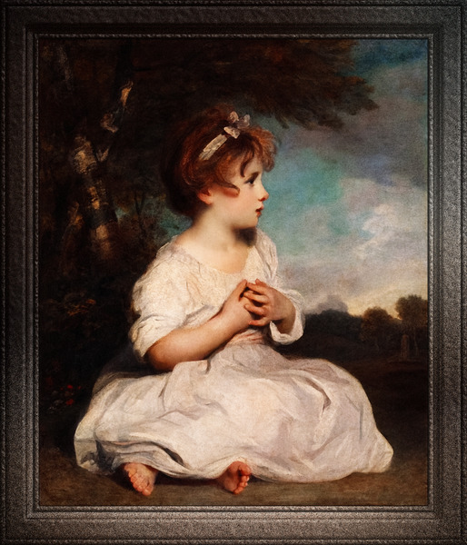 The Age of Innocence by Joshua ReynoldsOld Masters Xzendor7 Art Reproductions by xzendor7