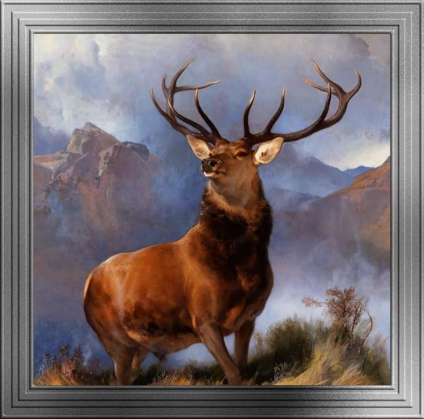 The Monarch of the Glen by Sir Edwin Henry Landseer Old Masters Classical Art Reproduction by xzendor7