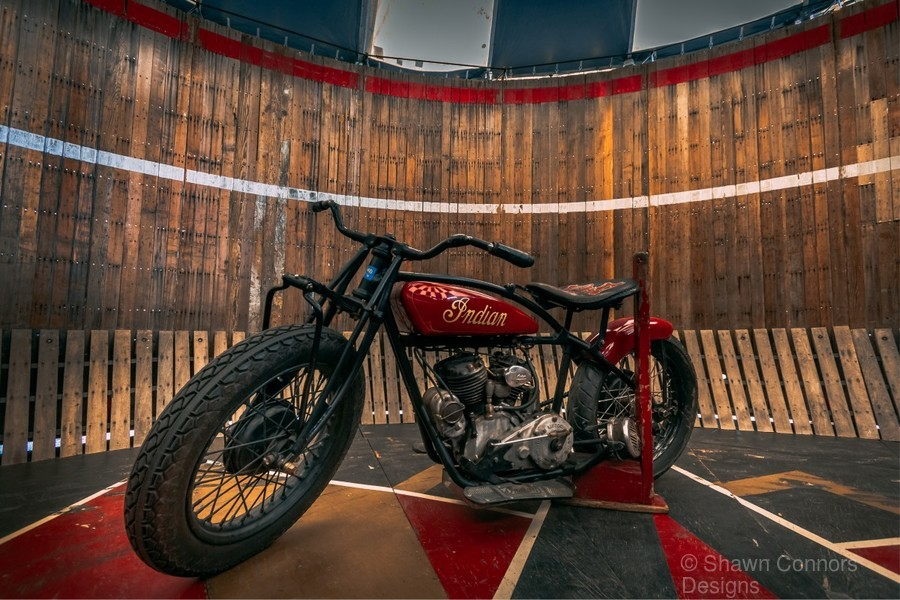 1927_Indian_Scout_Motorcycle  Print