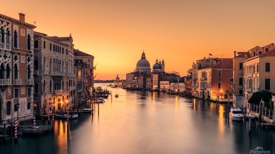 Dawn on Venice  Imprimer