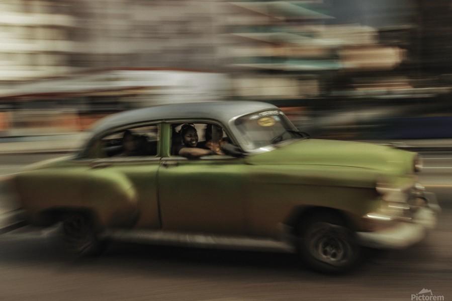 Panning Havana  Print