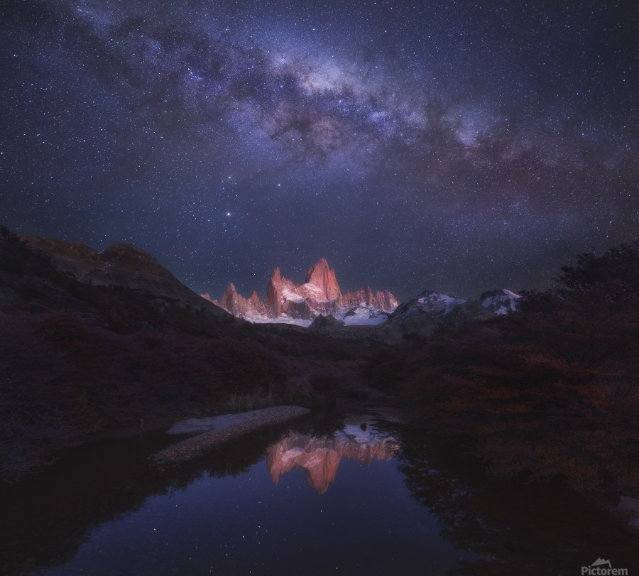 Patagonia Autumn Night  Print