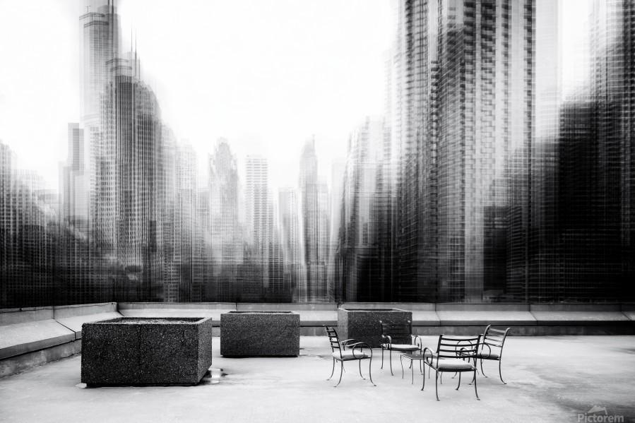 the terrace  Print