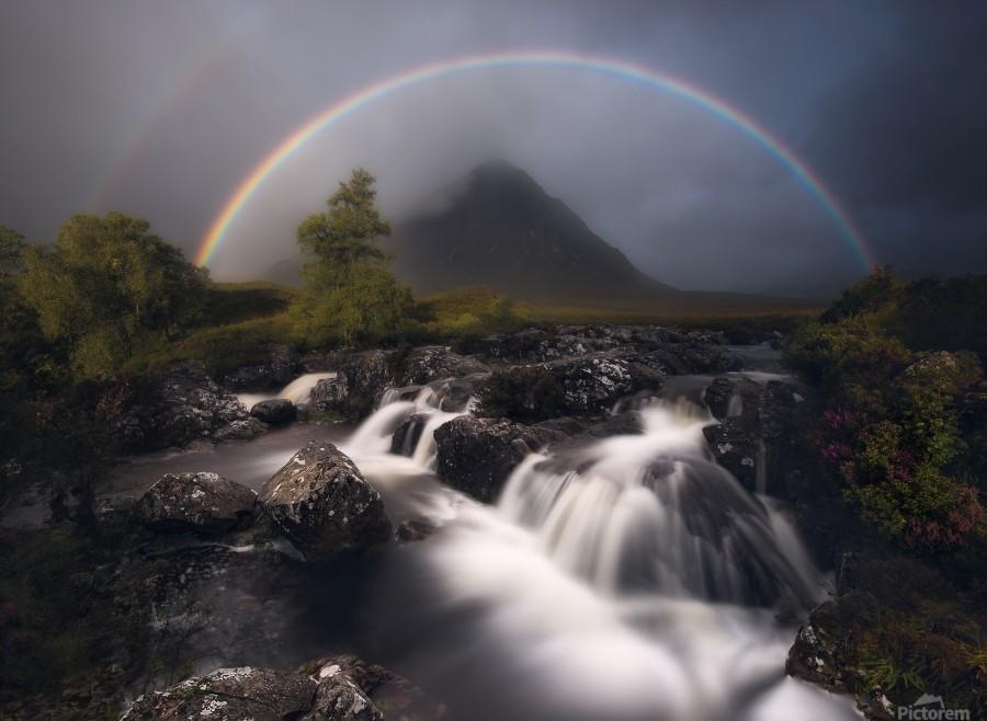 Etive Rainbow  Print