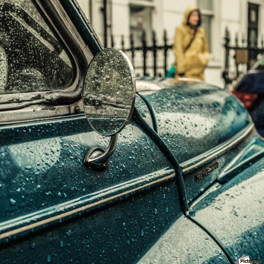 London Rain  Print