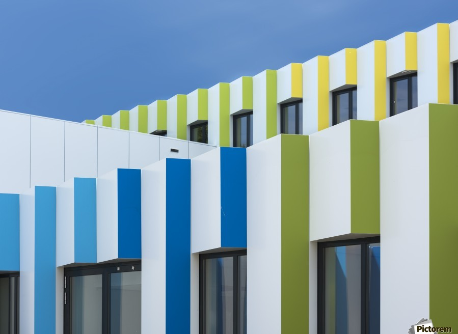 Triple facades  Print