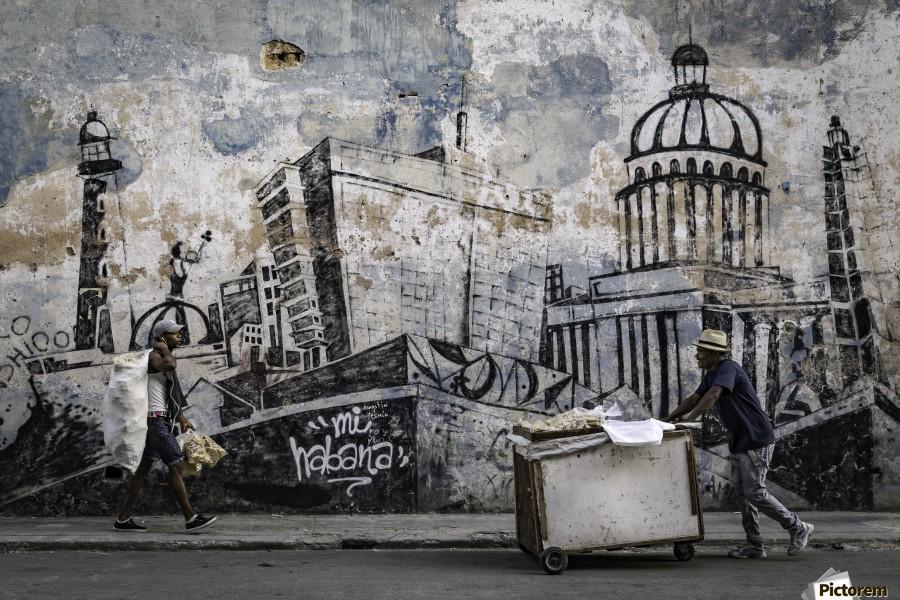 Mi Habana  Print