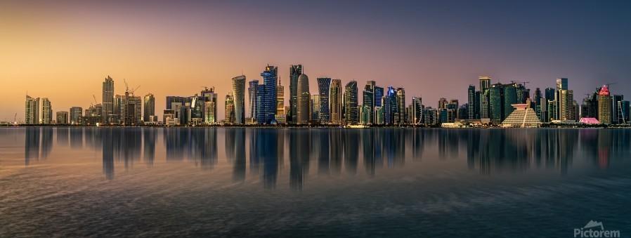 Doha reflections  Print