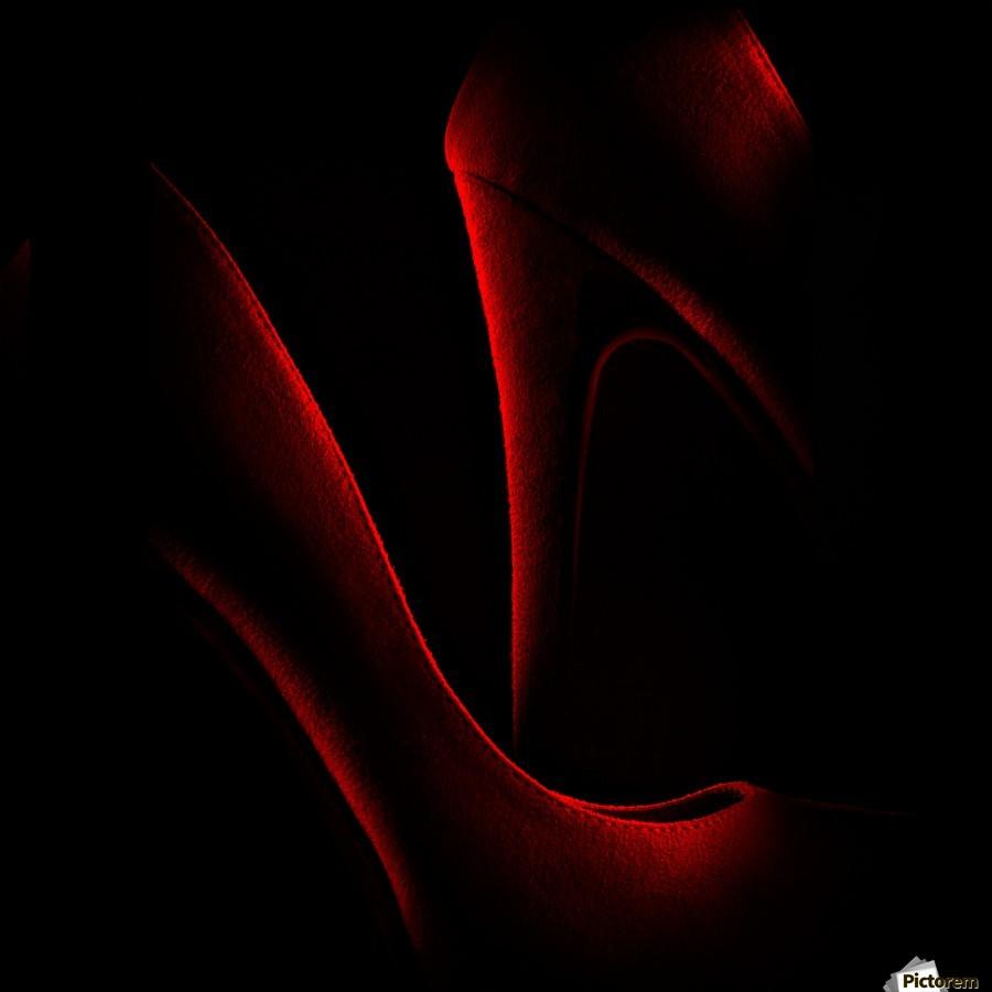 Shoe in Red  Imprimer