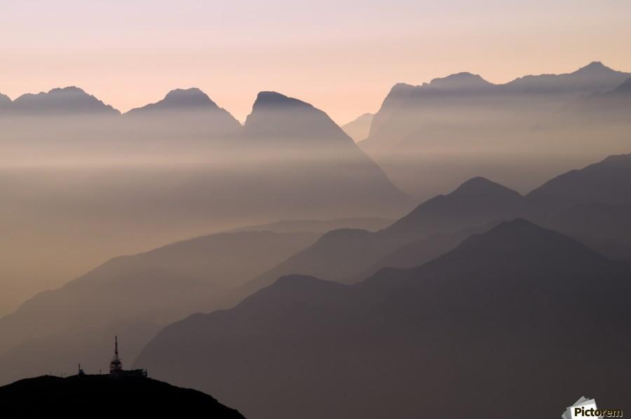 Alpine Sunset  Imprimer
